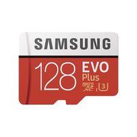Samsung EVO Plus microSDXC Karte Class10 2017 SD Adapter 128 GB