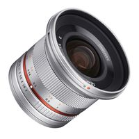 Samyang 12mm f/2,0 NCS CS Fujifilm X silber