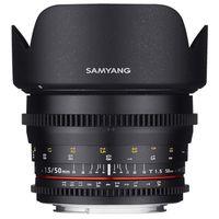 Für weitere Info hier klicken. Artikel: Samyang 50mm T/1,5 Video DSLR Nikon FX