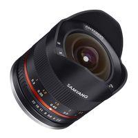 Samyang Fisheye 8mm f/2,8 II UMC Fujifilm X schwarz