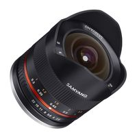 Samyang Fisheye 8mm f/2,8 II UMC Sony E-Mount schwarz