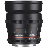 Für weitere Info hier klicken. Artikel: Samyang MF 24mm f/1,5 Video Sony A-Mount
