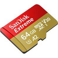 Für weitere Info hier klicken. Artikel: SanDisk 2x Extreme, microSDXC, UHS-I, U3, A2, V30, 160MB/s 64 GB