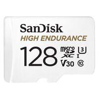 Für weitere Info hier klicken. Artikel: SanDisk High Endurance microSDXC Karte mit SD-Adapter, C10, U3, V30 128 GB