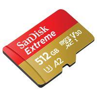 Für weitere Info hier klicken. Artikel: SanDisk Extreme Pro, microSDXC, UHS-I, U3, A2, V30, 160 MB/s + Adapter 512 GB