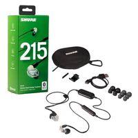 Für weitere Info hier klicken. Artikel: Shure SE215-CL-BT1-EFS Sound Isolating Ohrhörer, transparent
