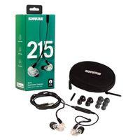Für weitere Info hier klicken. Artikel: Shure SE215-CL-UNI-EFS Sound Isolating Ohrhörer, transparent