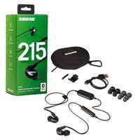 Für weitere Info hier klicken. Artikel: Shure SE215-K-BT1-EFS Sound Isolating Ohrhörer, schwarz