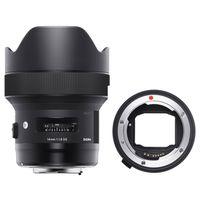 Für weitere Info hier klicken. Artikel: Sigma AF 14mm f/1,8 DG HSM A Canon EF + Sigma Mount Converter MC-11 Sony FE-Mount