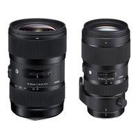 Für weitere Info hier klicken. Artikel: Sigma AF 18-35mm f/1,8 DC HSM ART + Sigma AF 50-100mm f/1,8 DC HSM ART SET Canon EF-S