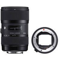 Für weitere Info hier klicken. Artikel: Sigma AF 18-35mm f/1,8 DC HSM ART Canon EF-S + Sigma Mount Converter MC-11 Sony E-Mount