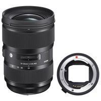 Für weitere Info hier klicken. Artikel: Sigma AF 2,0/24-35 DG HSM ART Canon EF + Sigma Mount Converter MC-11 Sony FE-Mount