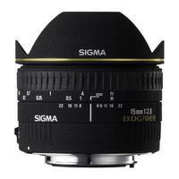 Für weitere Info hier klicken. Artikel: Sigma AF 15mm f/2,8 EX DG diag.Fisheye Sigma