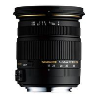 Sigma AF 17-50mm f/2,8 EX DC OS HSM Nikon DX