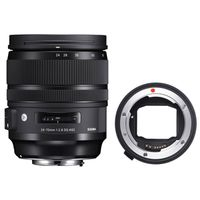 Für weitere Info hier klicken. Artikel: Sigma AF 24-70mm f/2,8 DG OS A Canon EF + Sigma Mount Converter MC-11 Sony FE-Mount