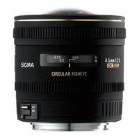 Für weitere Info hier klicken. Artikel: Sigma AF 4,5mm f/2,8 DC HSM zirk. Fisheye Nikon DX