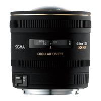Für weitere Info hier klicken. Artikel: Sigma AF 4,5mm f/2,8 DC HSM zirk. Fisheye Sony A-Mount