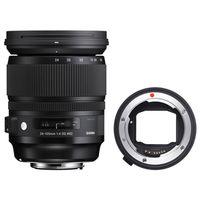 Für weitere Info hier klicken. Artikel: Sigma AF 24-105mm f/4 DG OS HSM ART Canon EF + Sigma Mount Converter MC-11 Sony FE-Mount