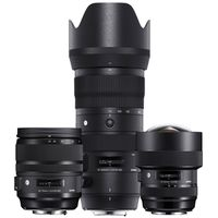 Für weitere Info hier klicken. Artikel: Sigma Objektivset AF 14-24mm f/2,8 DG HSM ART + AF 24-70mm f/2,8 DG OS ART + AF 70200mm f/2.8 DG OS HSM S Nikon FX