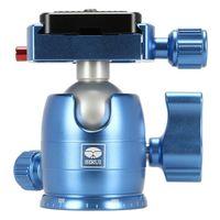 Für weitere Info hier klicken. Artikel: Sirui Kugelkopf mit TY-C10 Wechselplatte Aluminium blau