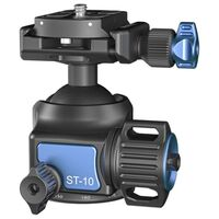 Für weitere Info hier klicken. Artikel: Sirui ST-10 Superb Travler Kugelkopf mit Wechselplatte Aluminium schwarz