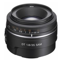 Sony AF 35mm f/1,8 DT Sony A-Mount