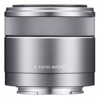 Sony AF 30mm f/3,5 Macro silber Sony E-Mount