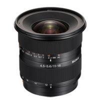 Für weitere Info hier klicken. Artikel: Sony AF 11-18mm f/4,5-5,6 DT Sony A-Mount