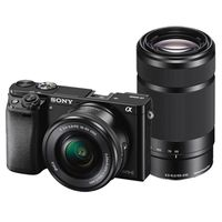 Für weitere Info hier klicken. Artikel: Sony Alpha 6000 (ILCE-6000YB) SEL 16-50 + 55-210 schwarz Sony NEX