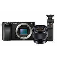 Für weitere Info hier klicken. Artikel: Sony Alpha 6100 (ILCE-6100) Gehäuse + SEL 10-18mm f/4,0 OSS + Bluetooth Griff GP-VPT2BT