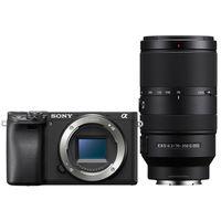 Für weitere Info hier klicken. Artikel: Sony Alpha 6400 (ILCE-6400) + SEL 18-135mm OSS + SEL 70-350mm G OSS