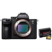 Für weitere Info hier klicken. Artikel: Sony Alpha 7 III (ILCE-7M3) + 64 GB UHS II Karte + Ersatzakku