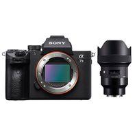 Für weitere Info hier klicken. Artikel: Sony Alpha 7 III (ILCE-7M3) + Sigma AF 1,8/14 DG HSM A schwarz