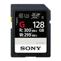 Sony SDXC Class10 UHS-II R300 128 GB