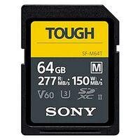 Für weitere Info hier klicken. Artikel: Sony SDXC-Karte Cl10 UHS-II U3 V60 TOUGH, 277/150 MB/s 64 GB