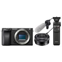 Für weitere Info hier klicken. Artikel: Sony Vlogging-Kit Alpha 6400 + SEL 16-50mm + Zoom Mikrofon ECM-CG60 + Bluetooth Griff GP-VPT2BT