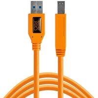 Für weitere Info hier klicken. Artikel: Tether Tools TetherPro SuperSpeed USB-Datenkabel für USB 3.0 Typ A an USB 3.0 Typ B - 4,6 Meter Länge orange
