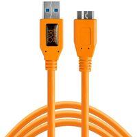 Für weitere Info hier klicken. Artikel: Tether Tools TetherPro SuperSpeed USB-Datenkabel für USB 3.0 Typ A an USB 3.0 Micro-B - 4,6 Meter Länge, gerader Stecker orange