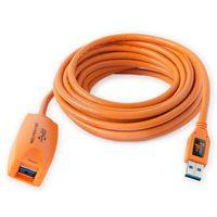 Für weitere Info hier klicken. Artikel: Tether Tools TetherPro USB 3.0 Active Extension Cable Aktives USB Verlängerungskabel - 4,9 Meter orange