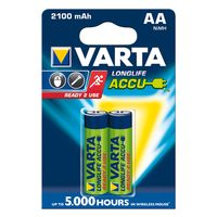 Varta Akku AA Mignon Ready2Use 2100mAh 2er-Pack