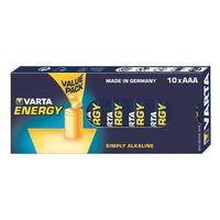Varta Alkaline Batterie Micro (AAA/LR03) Energy 10er Pack