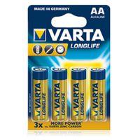 Für weitere Info hier klicken. Artikel: Varta Batterie 4106 Longlife Extra 4er-Pack