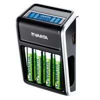 Für weitere Info hier klicken. Artikel: Varta LCD-Charger Plug incl. Mignon AA