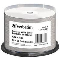 Für weitere Info hier klicken. Artikel: Verbatim DVD-R 16x Wide Silver Print 50x