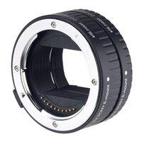 Für weitere Info hier klicken. Artikel: Viltrox DG (10mm/16mm) Automatic Extension Tube FF Sony E-Mount