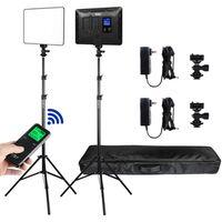 Für weitere Info hier klicken. Artikel: Viltrox VL 200T LED Light Duo Kit