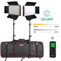 Für weitere Info hier klicken. Artikel: Viltrox VL D640T LED Light Duo Kit