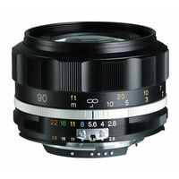 Für weitere Info hier klicken. Artikel: Voigtländer APO-Skopar 90mm f/2,8 SLII-S schwarz Nikon FX