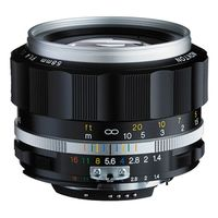 Für weitere Info hier klicken. Artikel: Voigtländer Nokton 58mm f/1,4 SLII-S (CPU) silber Nikon FX