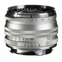 Für weitere Info hier klicken. Artikel: Voigtländer Nokton 50mm f/1,5 VM S.C. asphärisch silber Leica M